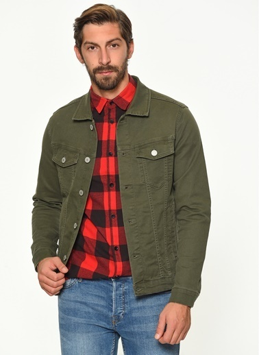 Jack & Jones Ceket Haki